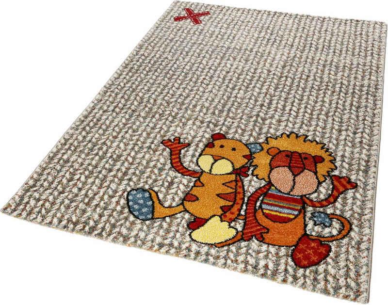 Kinderteppich »Patchwork Sweetys«, Sigikid, rechteckig, Höhe 13 mm