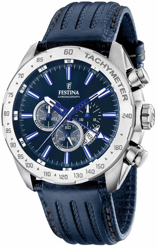 Festina Chronograph »F16489/B« dezentrale Sekunde