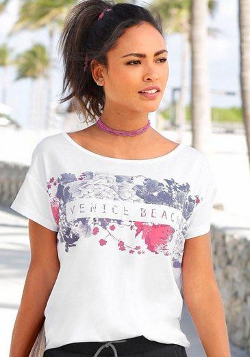 Frontprint Shirt Mit Beach Venice Beach Venice Mit Beach Venice Shirt Shirt Frontprint Mit Frontprint xUgwn4S