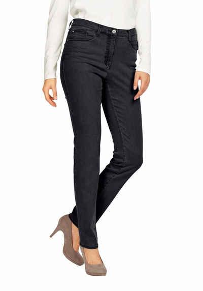Brax Straight-Jeans Carola Crystal, klassischer Schnitt, modische Optik,  mit Swarovski- af49c6e03c