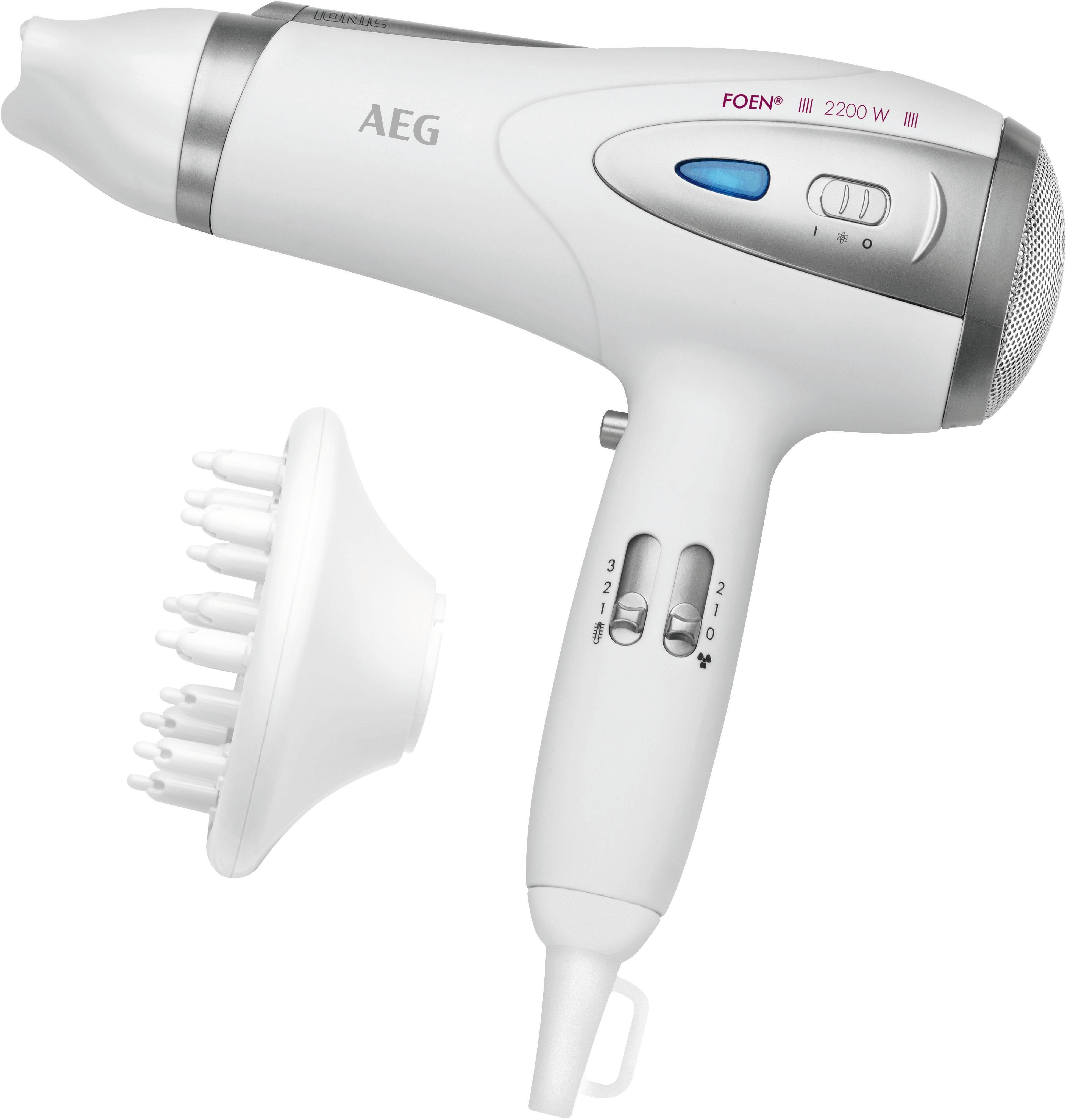 2200 W mit Anti-Statik-Effekt,Braun AEG Haartrockner HTD 5584