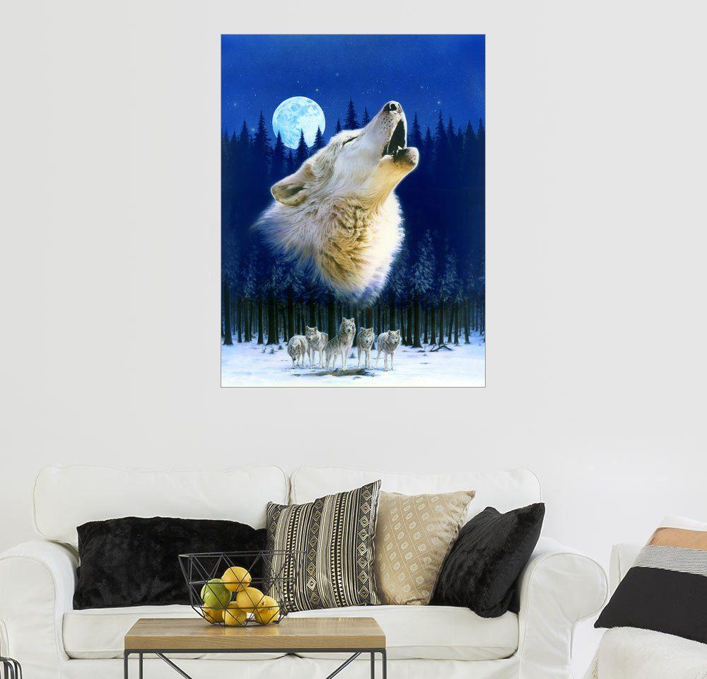 Posterlounge Wandbild - Robin Koni »Wolfsherde«