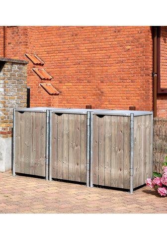 GLOBEL INDUSTRIES Dėžė šiukšlių konteineriams dėl 3 x 24...