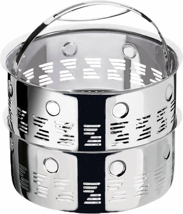 Zepter Medical Dampfkörbchen-Set, 4,0 Liter, Ø 18 cm, Edelstahl