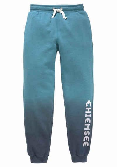 adf7e2a5d1c8b7 Chiemsee Sweathose mit Farbverlauf und Druck auf dem Bein