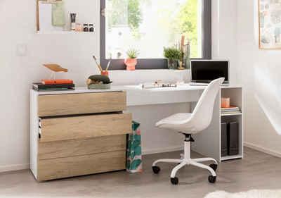 Borchardt Möbel Schreibtisch »Wallis«, Mit Push To Open Funktion