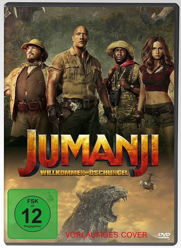 Sony Pictures DVD - Film »Jumanji: Willkommen im Dschungel«