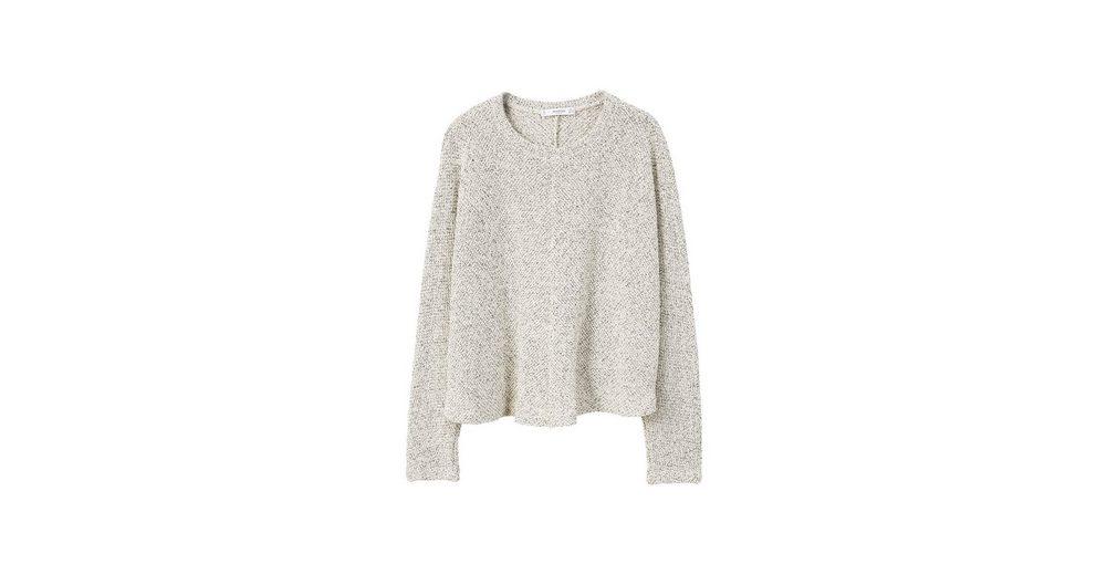 MANGO Melierter Baumwollpullover Original-Verkauf Online Mode-Stil Online KGUszn1
