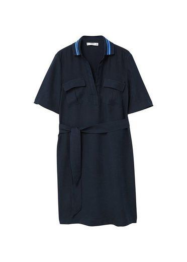 MANGO Kleid mit Gürtel