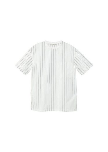 Mango One Cotton Shirt Striped