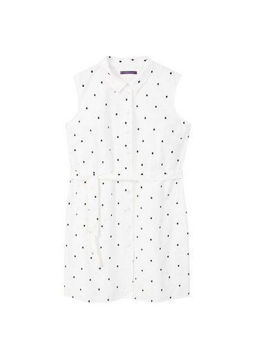 VIOLETA by Mango Hemdkleid mit Tupfenmuster
