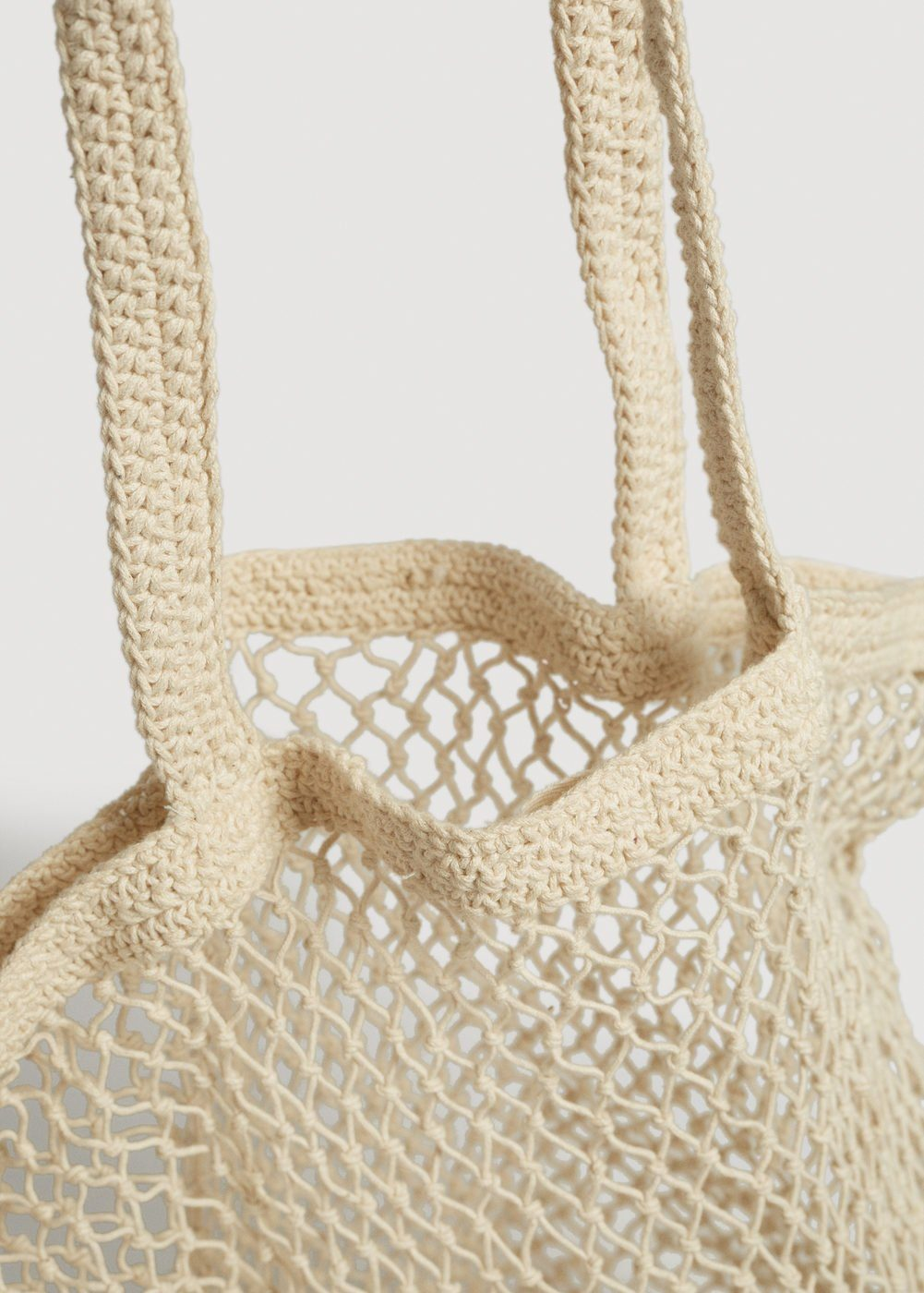 MANGO Handmade Netz-Tasche