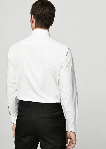 MANGO MAN Regular Fit Tailored Hemd aus Baumwolle