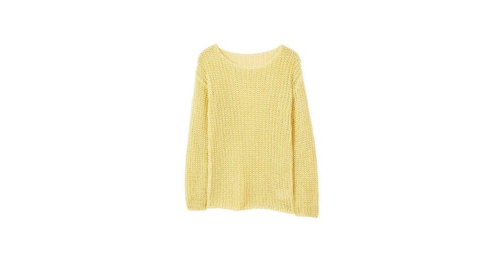Verkauf Beliebt Nicekicks Zum Verkauf MANGO Pullover mit Lochstrickmuster Perfekt Günstiger Preis lF4lkh2N3N