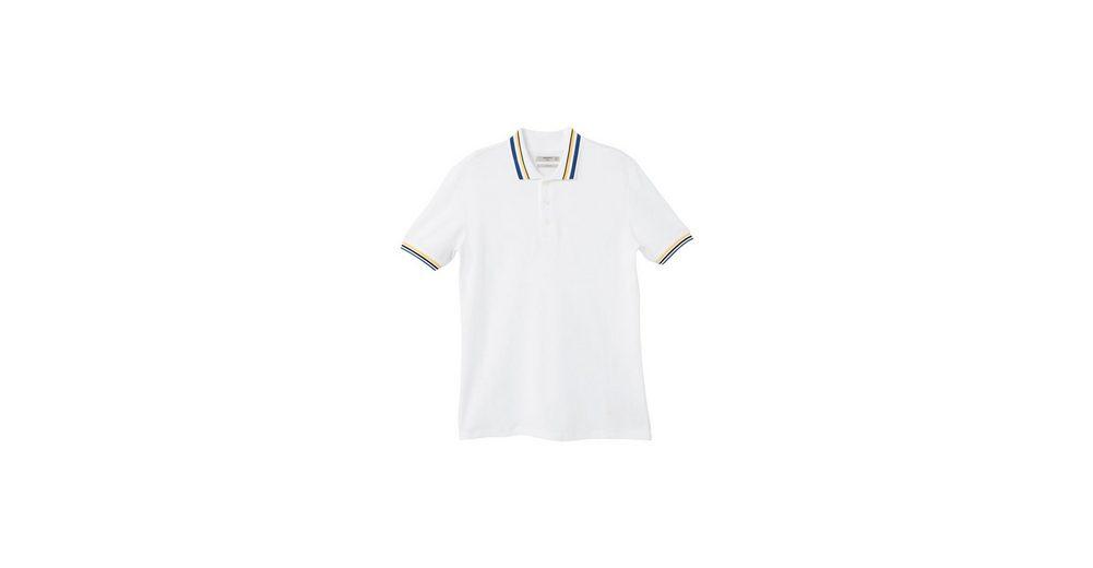 Spielraum Finish In Deutschland Günstigem Preis MANGO MAN Baumwoll-Poloshirt mit Kontrastabschlüssen Niedriger Preis Versandgebühr dv7HN
