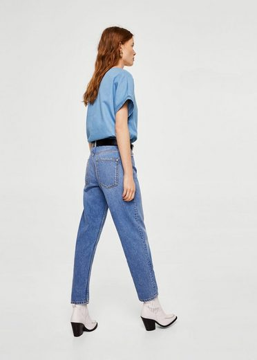 MANGO Jeansbluse