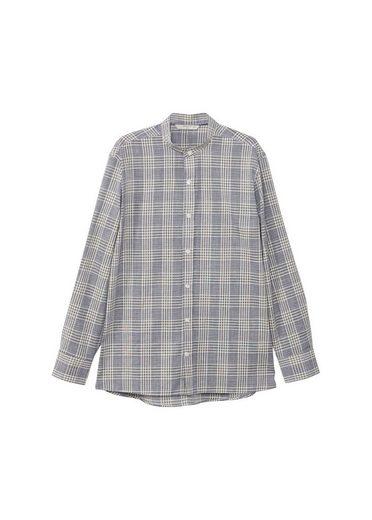 MANGO MAN Gestreiftes Regular Fit-Baumwollhemd