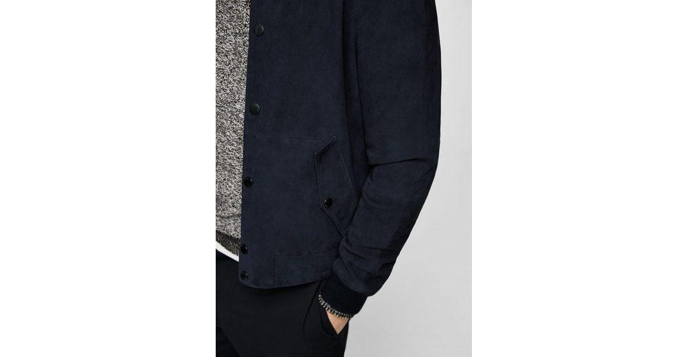 Sammlungen Zum Verkauf Günstigen Preis Aus Deutschland MANGO MAN Bomber-Jacke aus Wildleder 100% Authentisch Verkauf Online Neuesten Kollektionen Online 6xUXos06