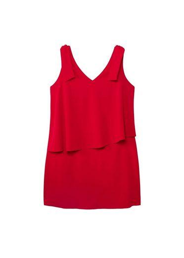 VIOLETA by Mango Doppellagiges Kleid