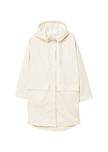 MANGO Pocket waterproof parka