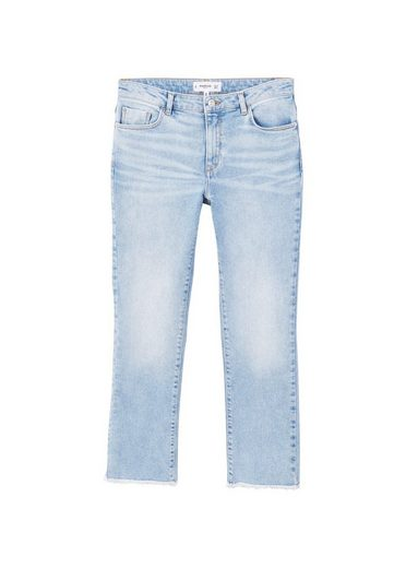 MANGO Straight Jeans in 7/8-Länge Jandri