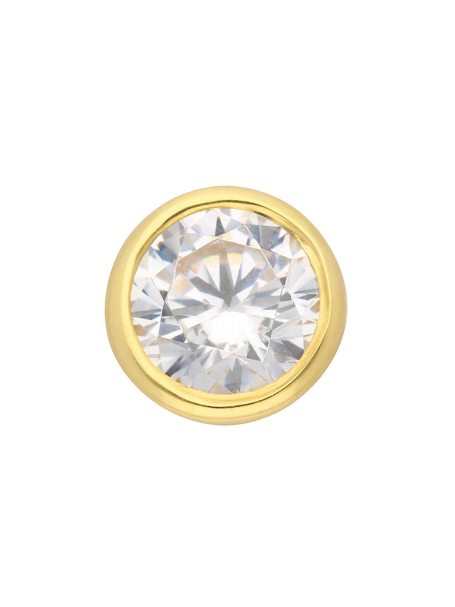 Adelia´s Kettenanhänger »Gold Anhänger«, 8 k 333 mit Zirkonia