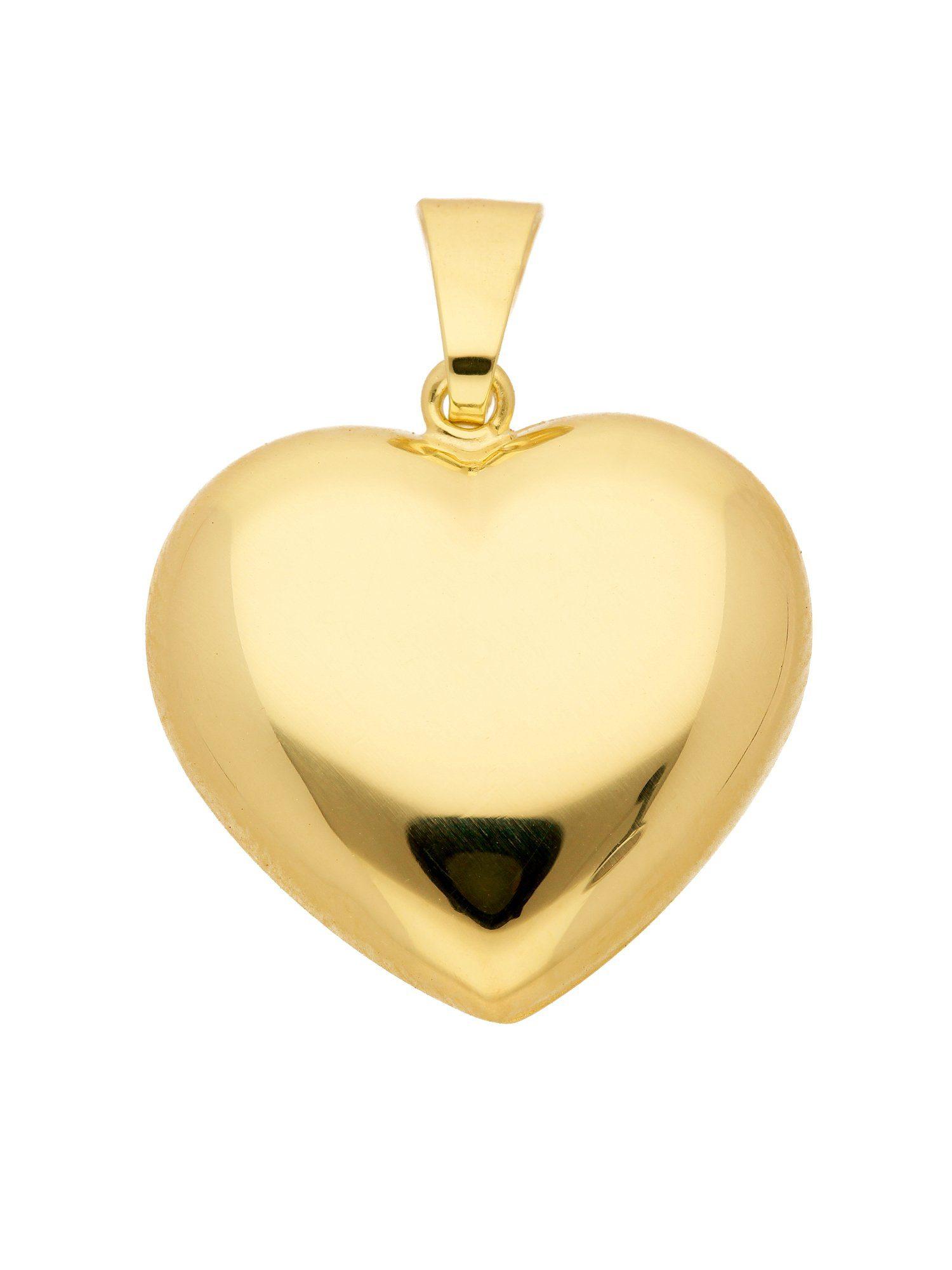 Adelia´s Kettenanhänger »Gold Anhänger«, 8 k 333 Herz