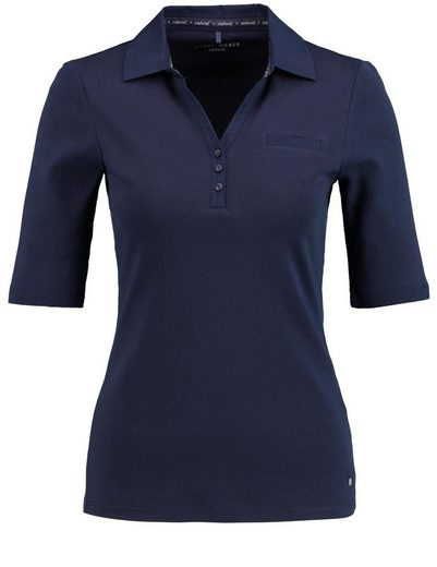 Gerry Weber Polo 1/2 Arm Polo-Shirt aus reiner Baumwolle