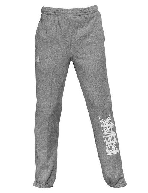 PEAK Sweatpants mit lässiger Schnittform | Bekleidung > Hosen > Sweathosen | Grau | Polyester | PEAK