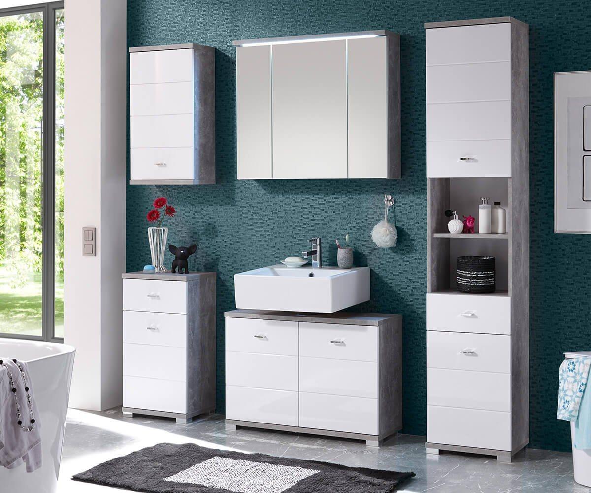 beton-weiss Badmöbel-Sets online kaufen | Möbel-Suchmaschine ...