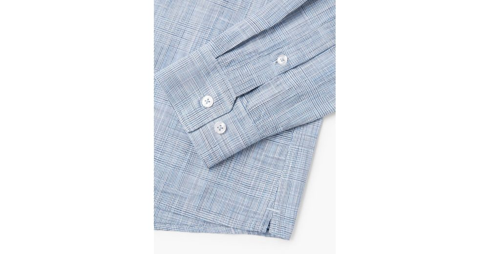 MANGO MANGO aus Fil Hemd MAN Regular Regular Fit Hemd MAN Fit PawIqZdwx