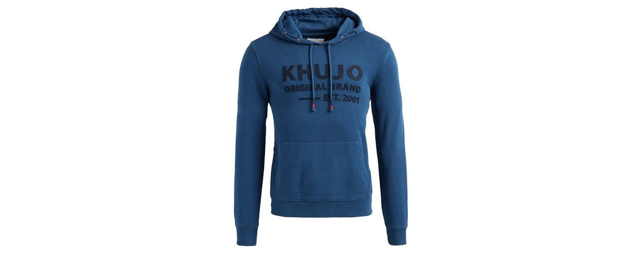 khujo Kapuzensweatshirt WASP, mit Logo auf der Front