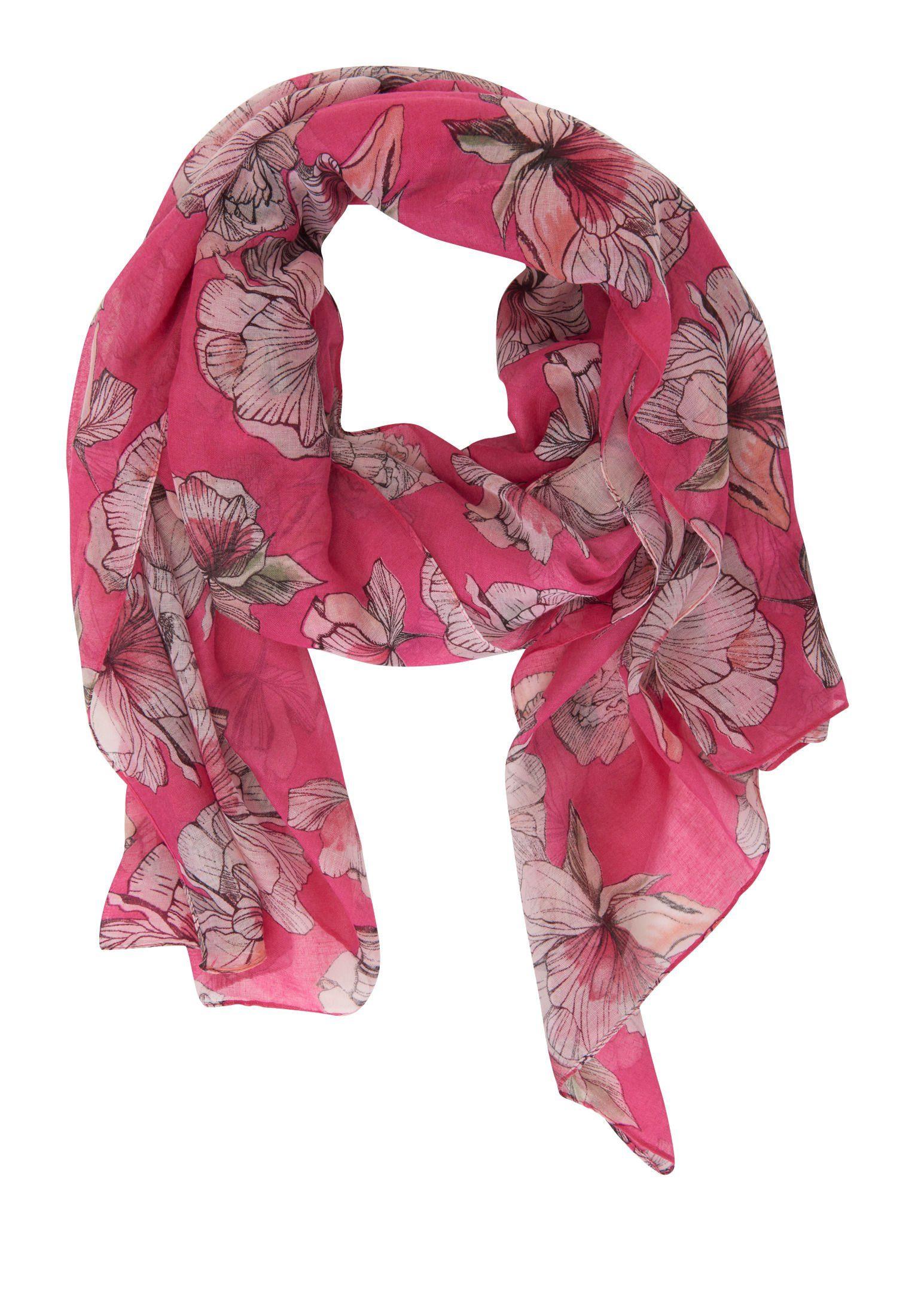 Betty&Co Schal mit Blumenprint