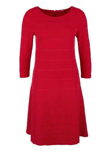 s.Oliver RED LABEL Tailliertes Stretch-Kleid