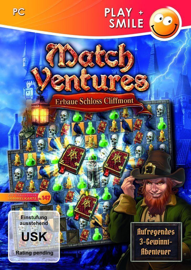 Astragon PC - Spiel »MatchVentures: Erbaue Schloss Cliffmont«