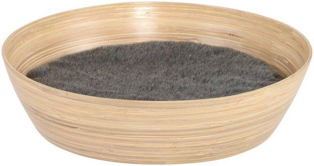 SILVIO DESIGN Katzenkorb »Ajumi Gr. 2«| B/L/H: 60/60/15 cm| natur | Garten > Tiermöbel > Katzenkörbe | SILVIO design