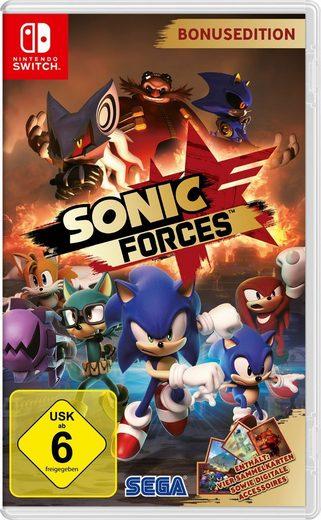 Sega Nintendo Switch - Spiel »Sonic Forces Bonus Edition«