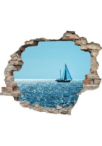 queence Wandtattoo »Segelboot« (1 vienetai)