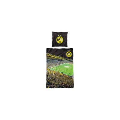 Bettwäsche »BVB Bettwäsche, 135 x 200 cm«, Borussia Dortmund