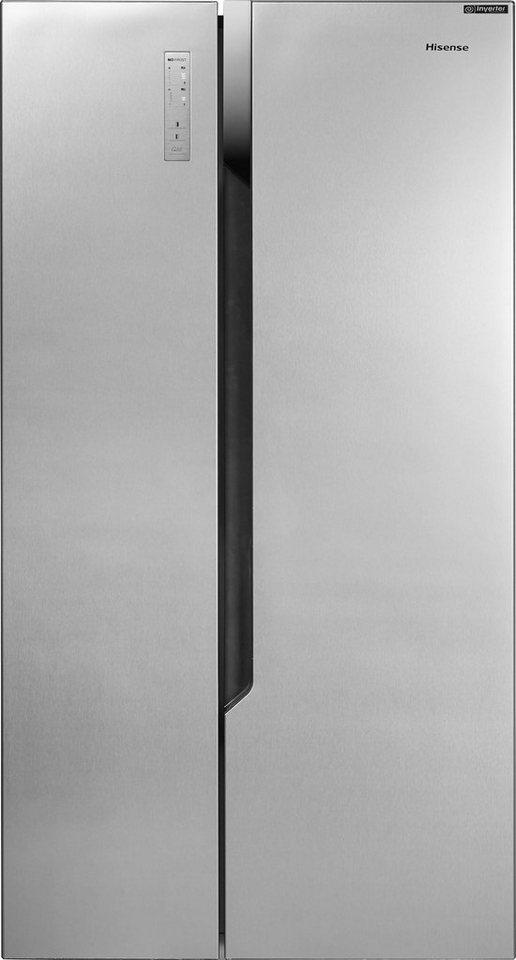 hisense side by side rs670n4bc3 178 6 cm hoch 91 cm breit online kaufen otto. Black Bedroom Furniture Sets. Home Design Ideas