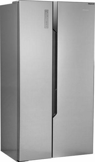 Hisense Side-by-Side RS670N4BC3, 178,6 cm hoch, 91 cm breit