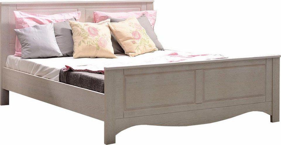 home affaire bett blanca 160 cm breite liegefl che mit. Black Bedroom Furniture Sets. Home Design Ideas