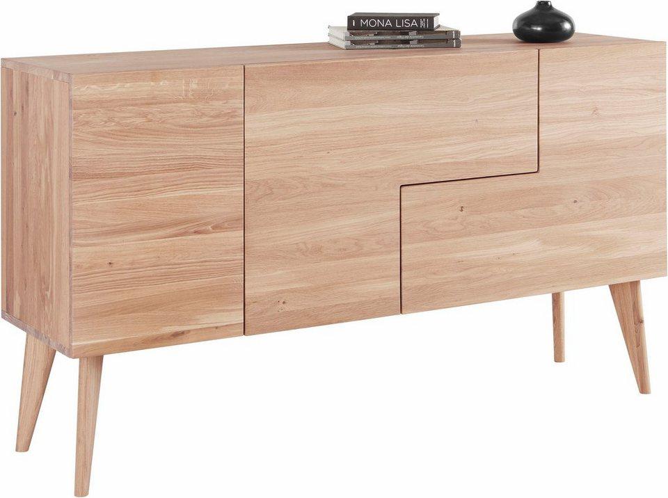 andas sideboard smilla breite 160 cm aus massiver eiche online kaufen otto. Black Bedroom Furniture Sets. Home Design Ideas