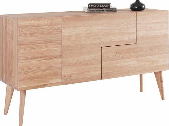 andas Sideboard »Smilla«, Breite 160 cm aus massiver Eiche