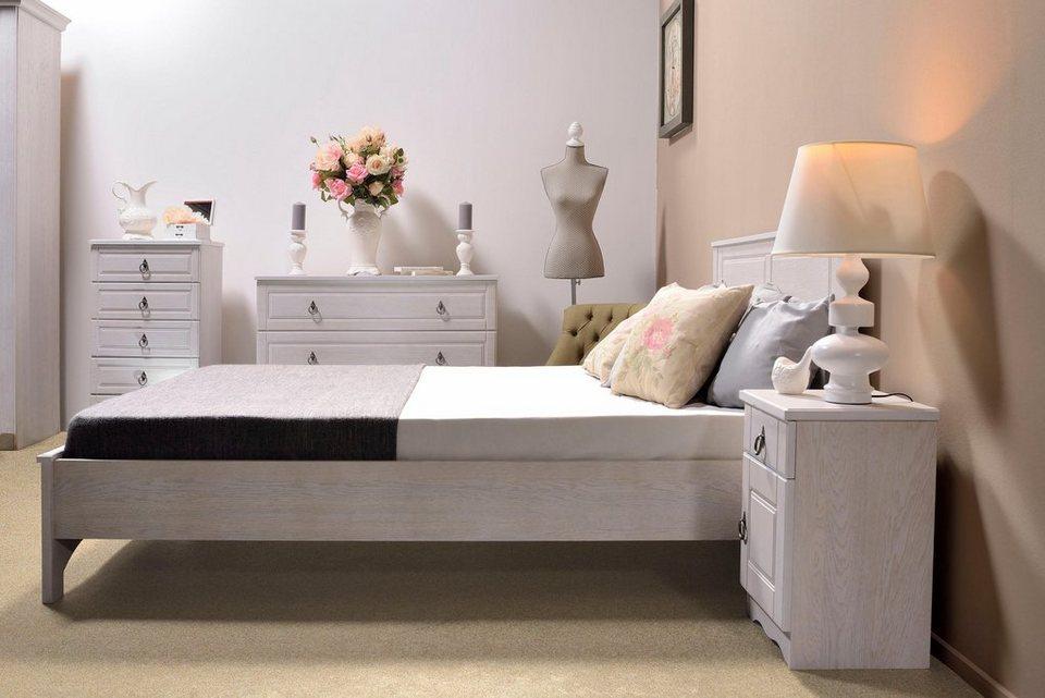 home affaire bett blanca 160 cm breite liegefl che ohne fu board online kaufen otto. Black Bedroom Furniture Sets. Home Design Ideas