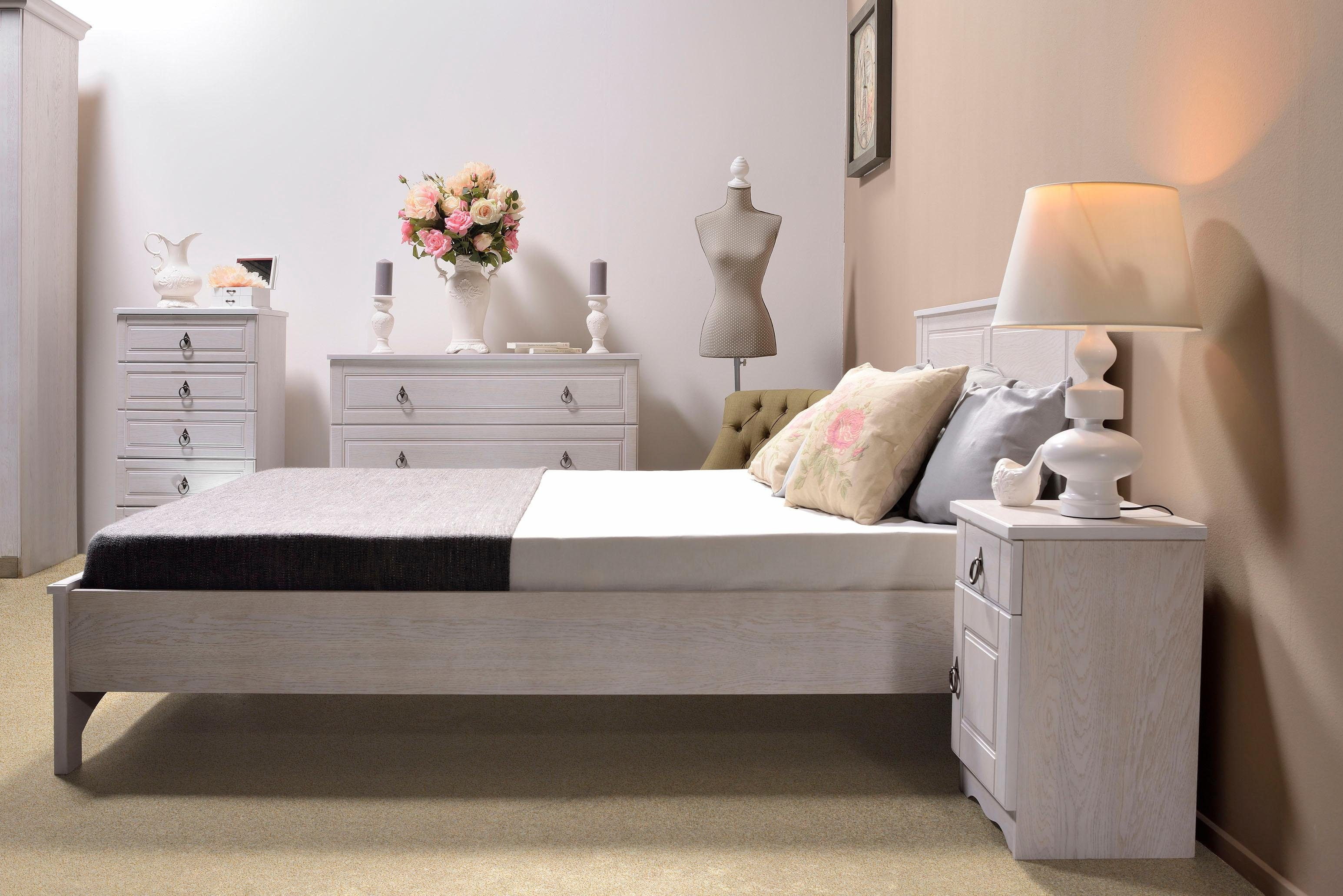 Home affaire Bett »Blanca« 160 cm breite Liegefläche, ohne Fußboard