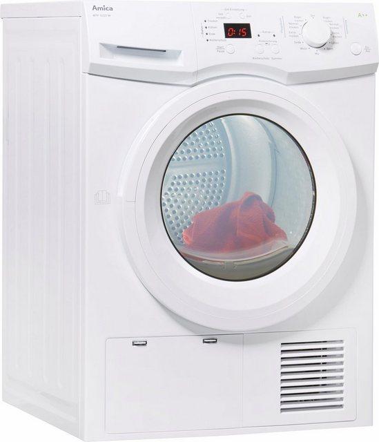 Amica Wärmepumpentrockner WTP 14322 W, 8 kg | Bad > Waschmaschinen und Trockner > Wärmepumpentrockner | Weiß | Amica