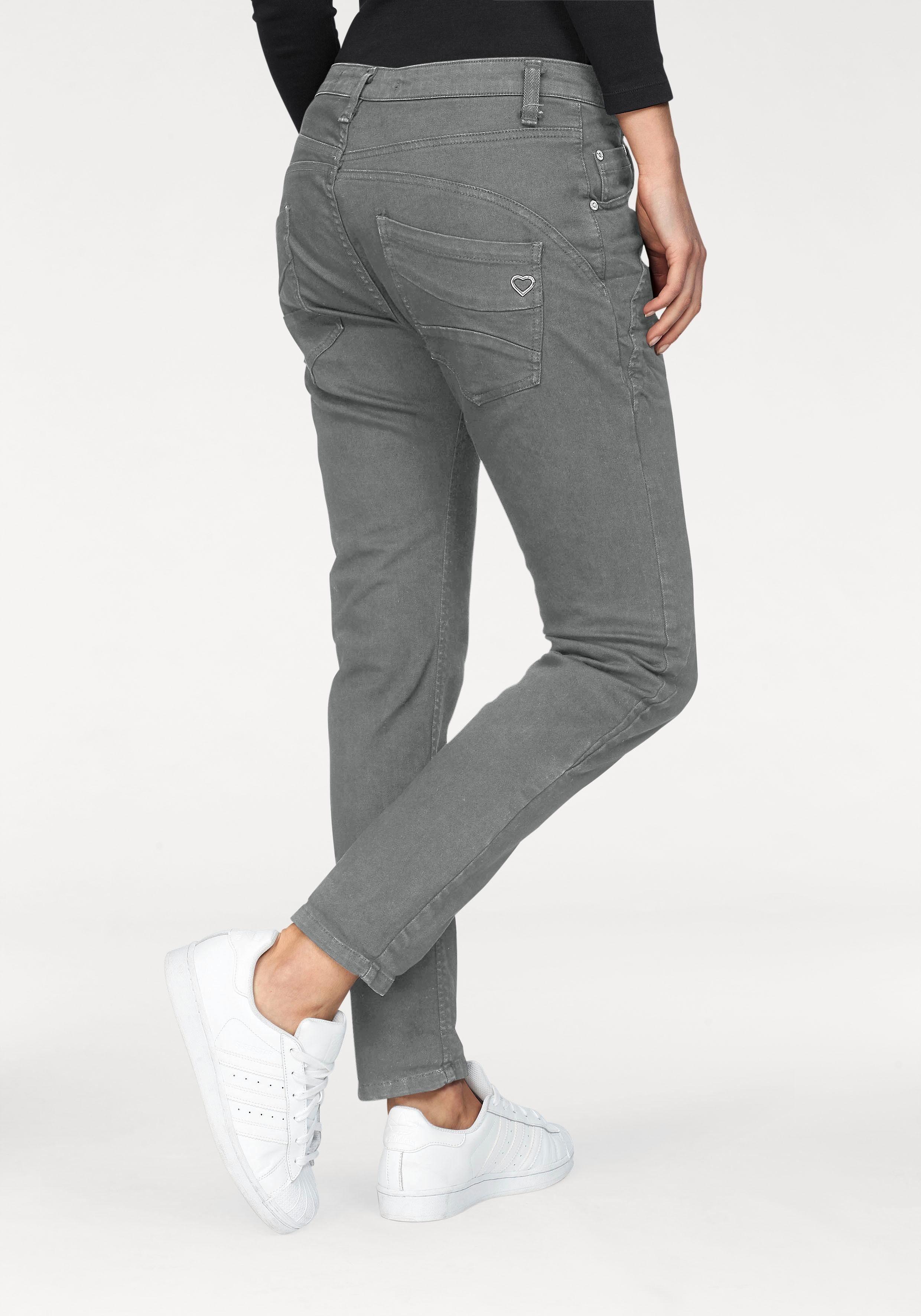 Please Jeans Boyfriend-Hose »P6AG« mit abgerundeten Ziernähten