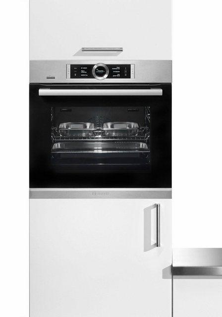 Küchengroßgeräte - BOSCH Einbaubackofen HSG636XS6, mit Teleskopauszug mit Stoppfunktion, ecoClean  - Onlineshop OTTO