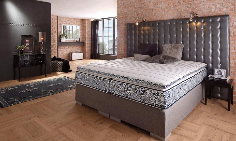 gelschaum topper blue waves gmk home living otto. Black Bedroom Furniture Sets. Home Design Ideas